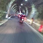 Die ersten Tunnel auf der Südrampe des Stilfser Jochs sind erreicht
