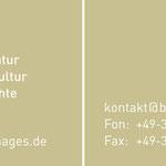 Bildarchiv Preußischer Kulturbesitz  > Visitenkarte