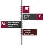 Burgen, Schlösser, Altertümer Rheinland Pfalz > Leitsystem