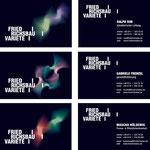 Friedrichsbauvariete > Visitenkarten