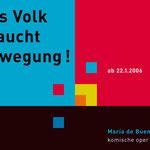 Komische Oper Berlin > Plakat > 3