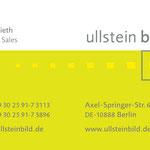 ullstein bild > Visitenkarte