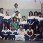 attività palestra scuola 1987