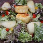 Mein Salat mit gebackenen Ziegenkäse, für den großen Hunger