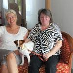 Katja Müller, Dina und ich, im Hotel