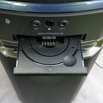 Bluetoothbox 1000W CD-Fach