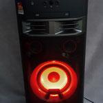Bluetoothbox 1000W Beleuchtung