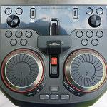Bluetoothbox 1000W Bedienfeld