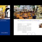 Columbia Objekt Design: Imagebroschure, Mailings