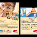 Schabens: Anzeigen, Werbemaßnahmen