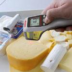 Infrarot Thermometer Lebensmittel