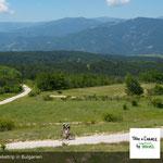 Mountainbike in Bulgarien