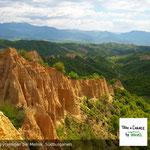 Wandern in Bulgarien, Sandsteinpyramiden bei Melnik