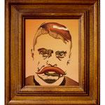 Emiliano Zapata, 2013 (Öl auf Leinwand, 24 x 30 cm)