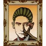 Franz Kafka, 2007 (Öl auf Leinwand, 40 x 50 cm)