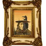 Sitting Bull, 2001 (Öl auf Leinwand, 18 x 24 cm)