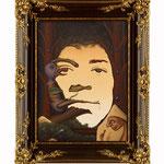 Jimi Hendrix, 2008 (Öl auf Leinwand, 30 x 40 cm)