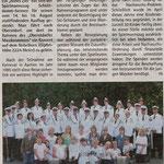 Vorbericht Oberstdorf-Tour 2009 (Quelle: Hadler Kurier 12.08.2009)