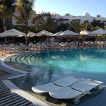 One of the pools at the Princesa Yaiza in Lanzarote