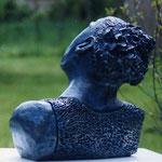 Epreuve 31x29x11  2/3 plâtre patiné bronze  vendu