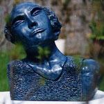 Epreuve 31x29x11  1/3  plâtre patiné bronze  vendu
