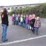 Busschule für die jahrgangsgemischte Eingangsstufe