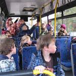 Schulung im Bus