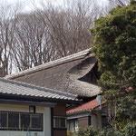 新川家の藁ぶき屋根