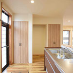 広々収納のキッチン