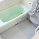 浴室はユニットバス。(鏡と水栓、プロによる清掃を行っています。)