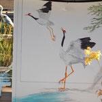 Filterhaus, Pumpenhaus, Malerei  Acryl