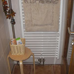 Duschen mit Handtuchhalter-Heizkörper