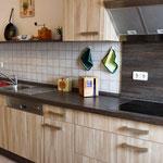Küche mit Ceranfeld,Spülmaschine,etc.