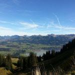 Bergpanorama Hörnerbahn