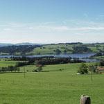 Blick auf den Rottachsee ca. 5min vom Haus entfernt