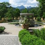 Schlossgarten Hohenschwangau
