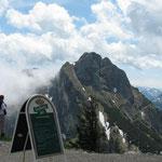 Blick von der Ostlerhütte auf Aggenstein
