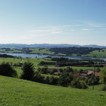 Blick auf den Rottachsee ca. 5 min vom Haus entfernt