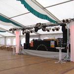 Bühne mit Licht
