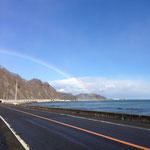 広尾の海と虹1