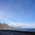 広尾の海と虹2