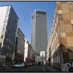 Frankfurt Gallus - Tower 185 - Blick aus der Ludwigstr.