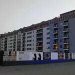 Frankfurt am Main - Gallus - Wohnblock Frankenallee