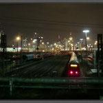 Frankfurt Gallus - Skyline Hauptbahnhof - Blick von der Camberger Str.