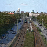 Frankfurt Gallus - Mainzer Landstr. / Höhe Mönchhofstr.