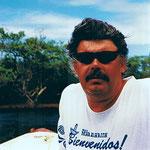 Auf dem Orinoko-Fluss im Grenzgebiet Venezuela/Brasilien