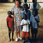 Stadt Sere Kunda-Gambia-Westafrika | Schule im Busch