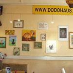 Im Dodohaus: Werke verschiedenster Dodo-Künstler