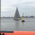 Vor dem Start zum Minox Cup Cuxhaven - Helgoland (Foto: Dierk Müller, SVC)
