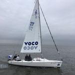 Gerda M vor dem Start zum Minox Cup Cuxhaven - Helgoland (Foto: Dierk Müller, SVC)